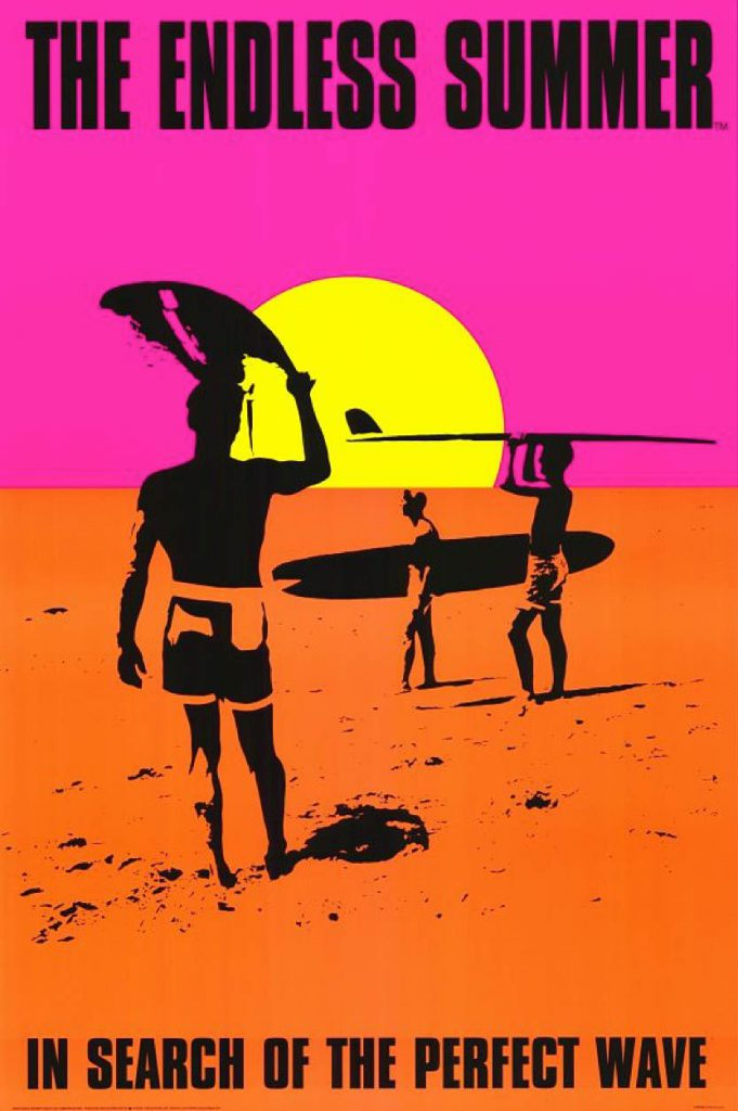 Cartel de The Endless Summer