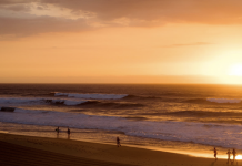 Merewether, el break que hospeda al Burton Automotive Pro. Fotocred: WSL / Tom Bennett