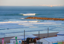 En Caparica como en casa. Foto: WSL / Laurent Masurel