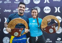 Willian Cardoso y Johanne Defay - PHOTO: © WSL / Cestari