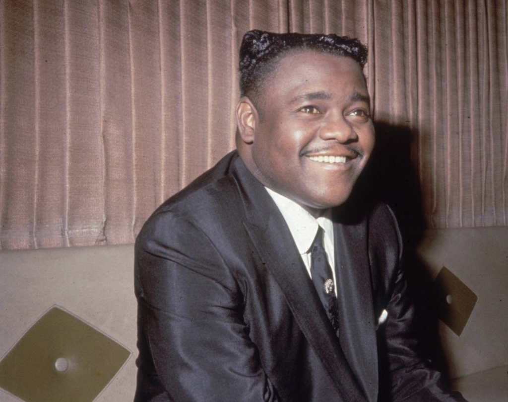 Fats Domino, la cara amable del Rock & Roll. Fotocred: Getty Images
