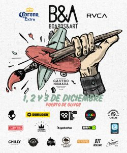 Cartel de la 11ª del Boards & Art