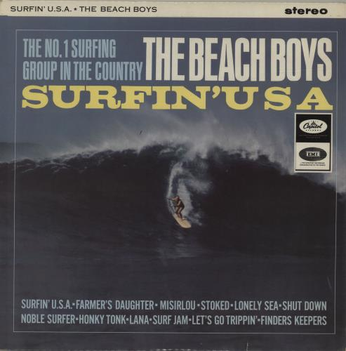 Portada de Surfin´Usa, de The Beach Boys