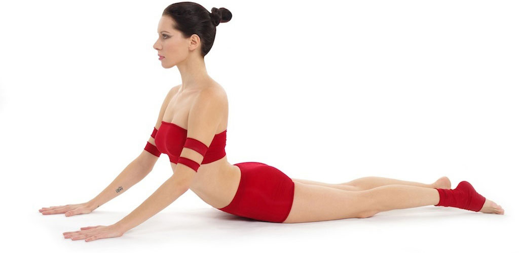Bhujangasana by Nina Mel, Yoga Teacher